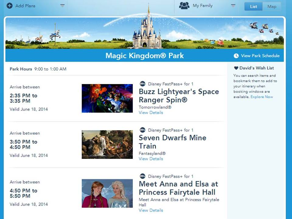FastPass+ from yourfirstvisit.net
