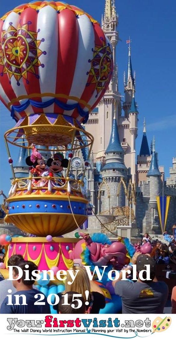 Disney World in 2015 from yourfirstvisit.net