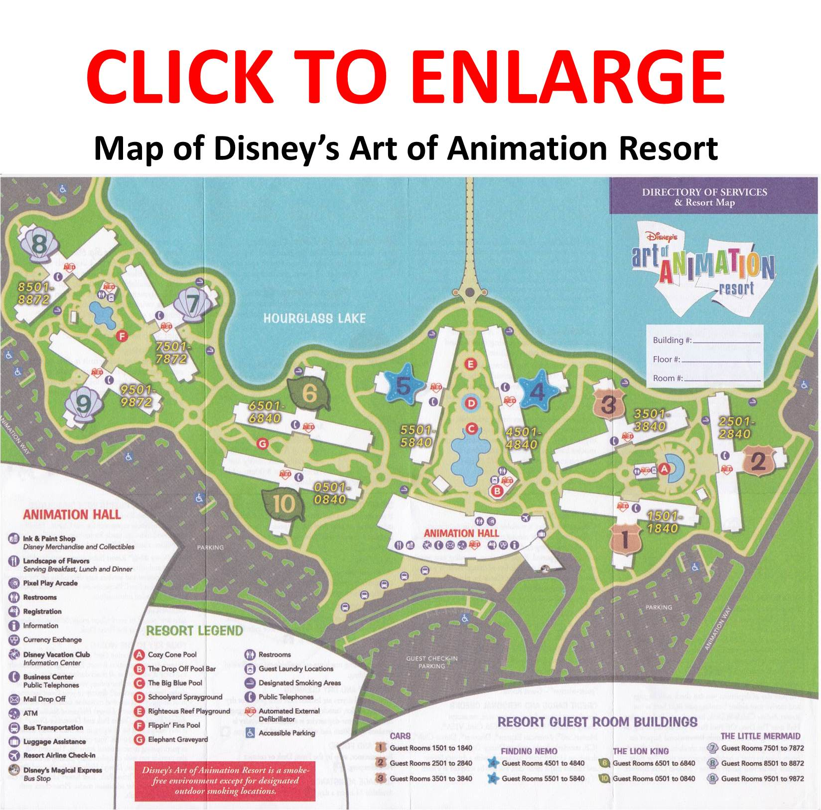 Review The Family Suites at Disneys Art of Animation Resort