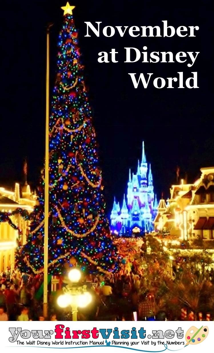 November 2015 at Disney World from yourfirstvisit.net