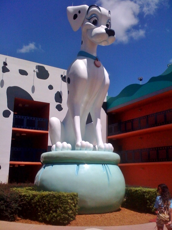 Perdita 101 Dalmations Disney's All-Star Movies Resort from yourfirstvisit.net