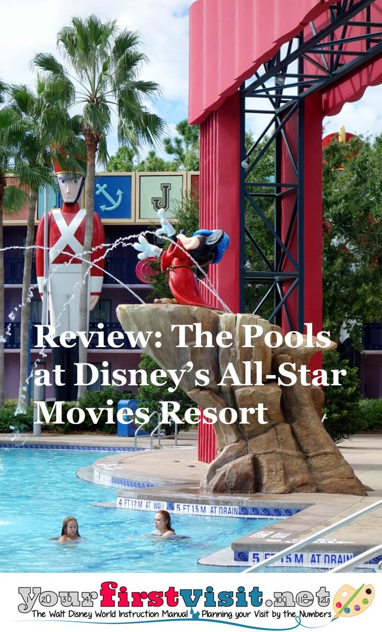 Review The Pools at Disney's All-Star Movies Resort from yourfirstvisit.net