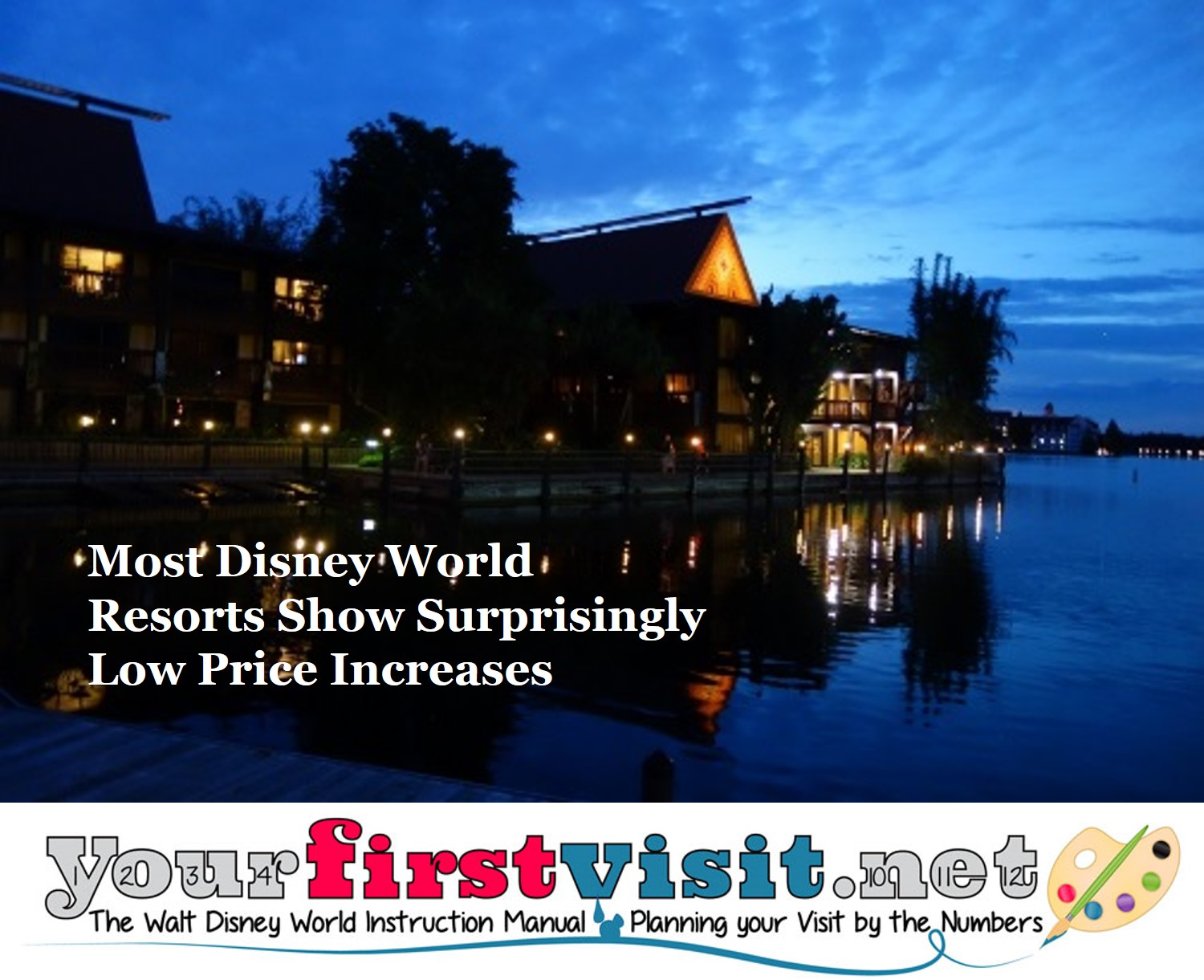 Some Shockingly Low 2017 Price Increases at Most Disney World Resorts from yourfirstvisit.net