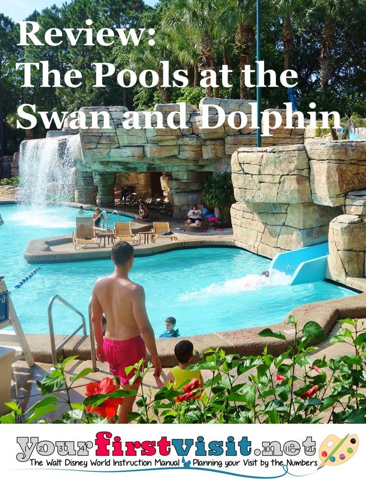 The Pools At The Disney World Swan And Dolphin