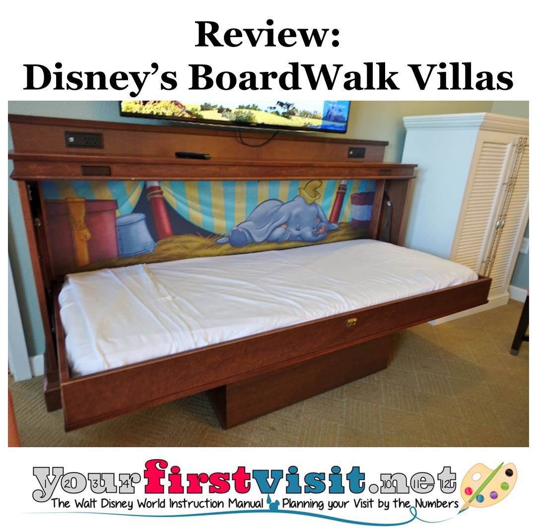 Review Disney's BoardWalk Villas from yourfirstvisit.net