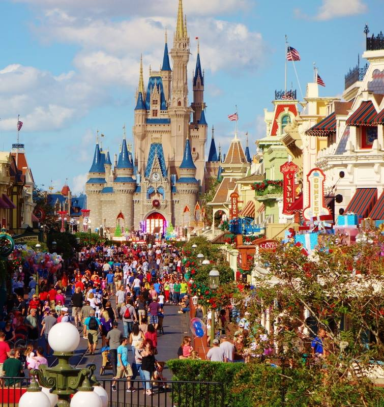 The Magic Kingdom from yourfirstvisit.net