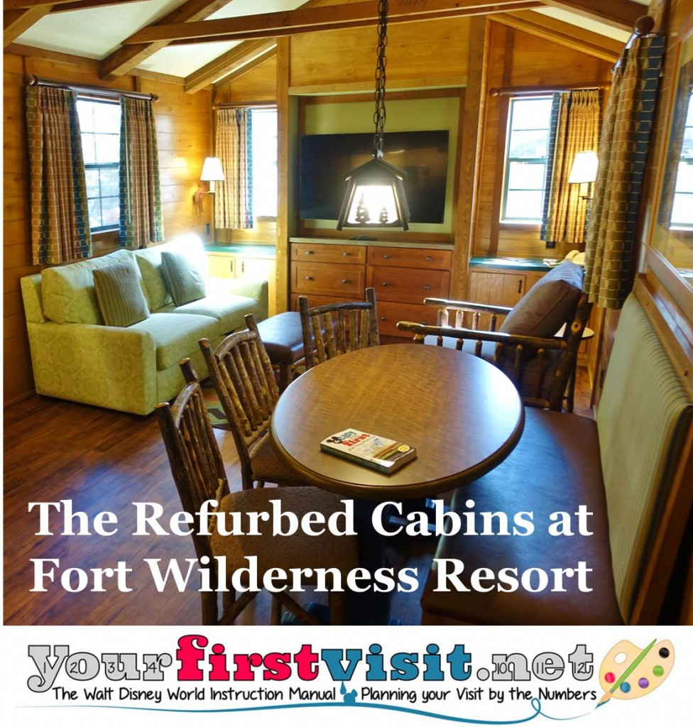 Photo Tour Of A Refurbed Cabin At Disney's Fort Wilderness