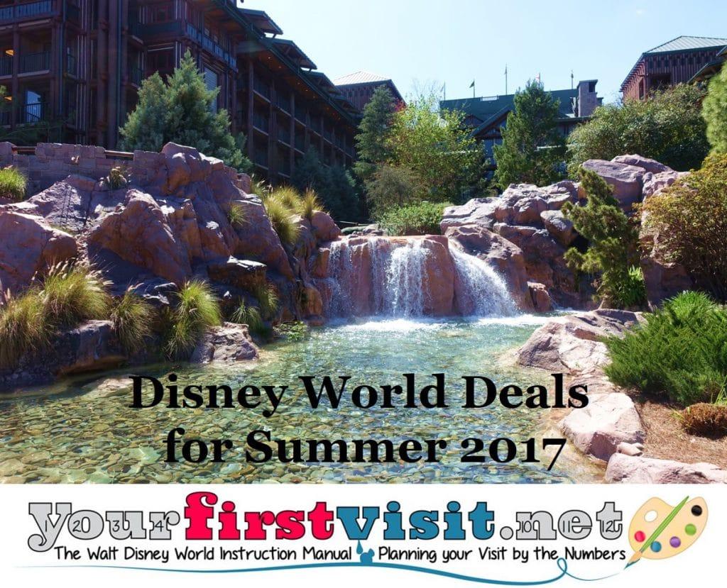 Disney World Discounts For Summer Released Yourfirstvisitnet - Disney deals