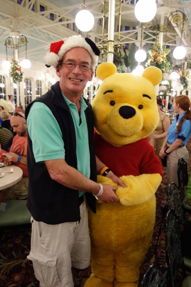 Me and Pooh at the Crystal Palace