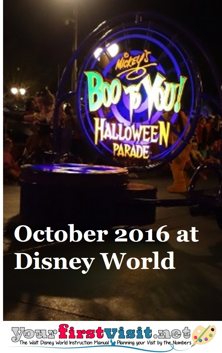 October 2016 at Disney World from yourfirstvisit.net