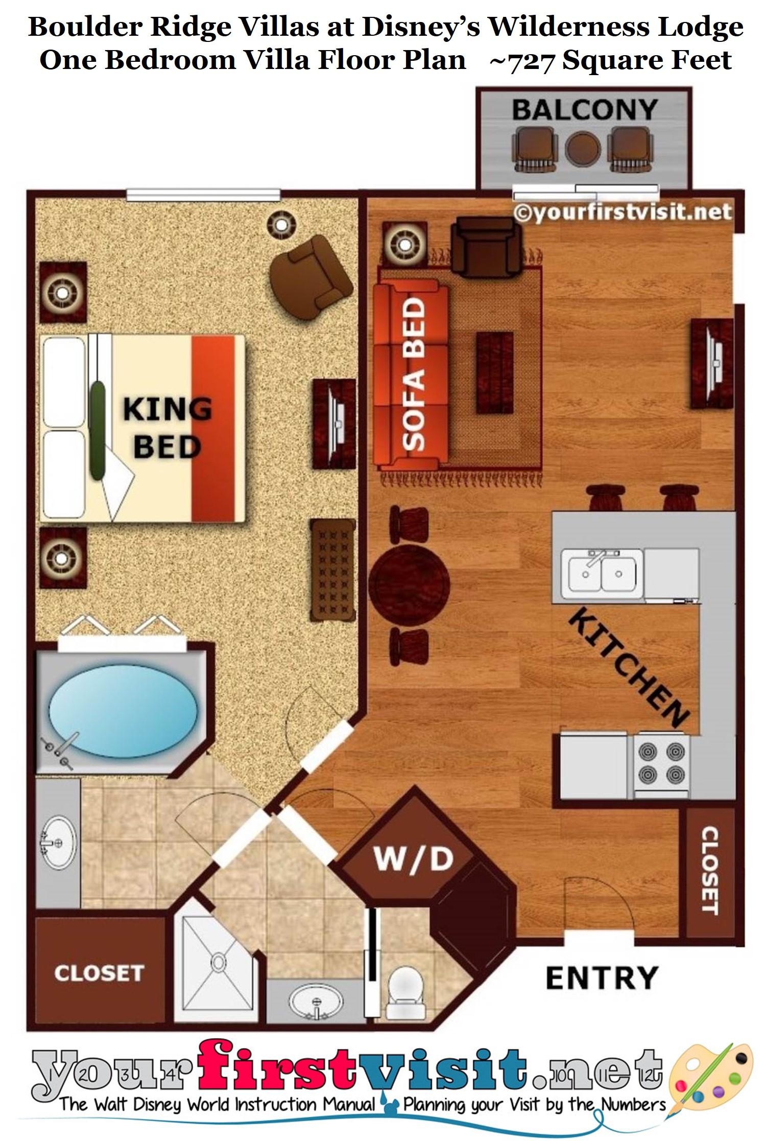 Wilderness Lodge 2 Bedroom Villa Floor Plan Meze Blog
