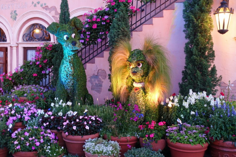 Epcot Flower and Garden Show from yourfirtsivsit.net