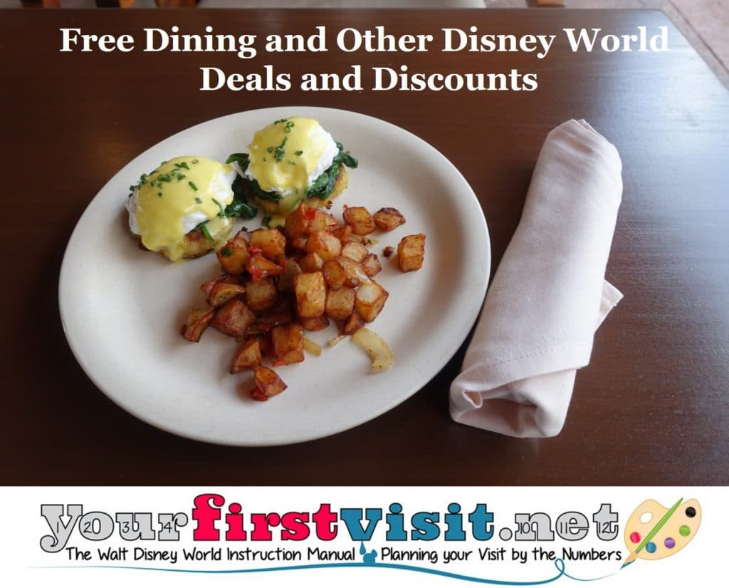 Free Dining And Other Disney World Deals: how to get free dining at disney