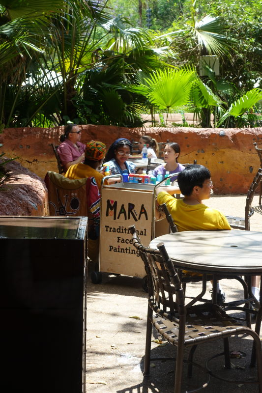 Outdoor Dining and Play Mara Disney's Animal Kingdom Lodge from yourfirstvisit.net