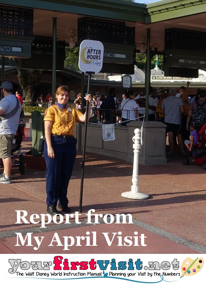 Report from my April Visit from yourfirstvisit.net