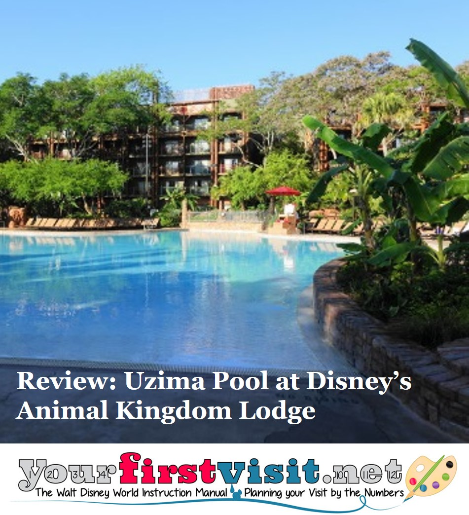 Review Uzima Pool at Disney's Animal Kingdom Lodge from yourfirstvisit.net