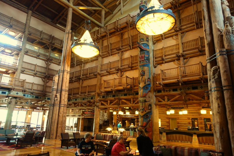 Wilderness Lodge Lobby from yourfirstvisit.net