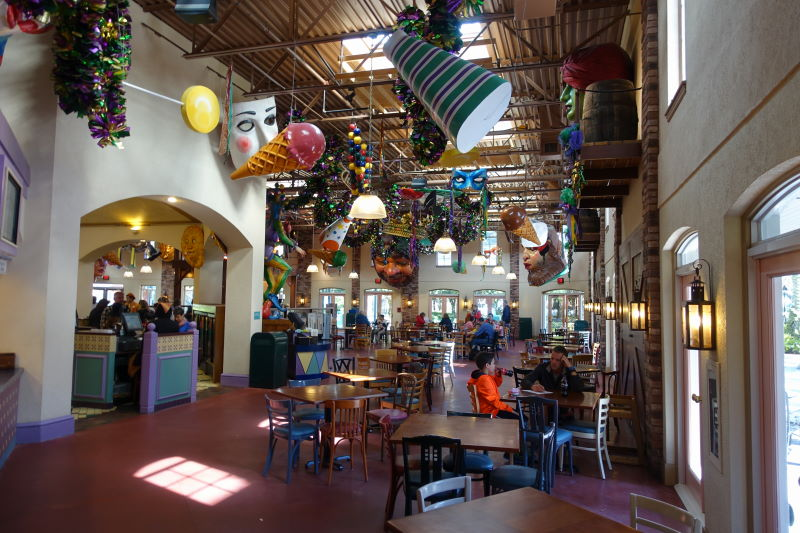 Food Court Disney's Port Orleans French Quarter Resort from yourfirstvisit.net (2)