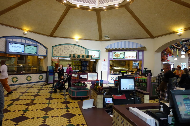 Food Court Disney's Port Orleans French Quarter Resort from yourfirstvisit.net