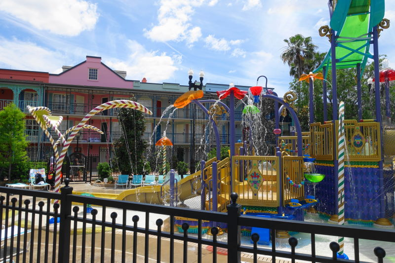 Kids Water Play Area Disney's Port Orleans French Quarter Resort from yourfirstvisit.net (2)