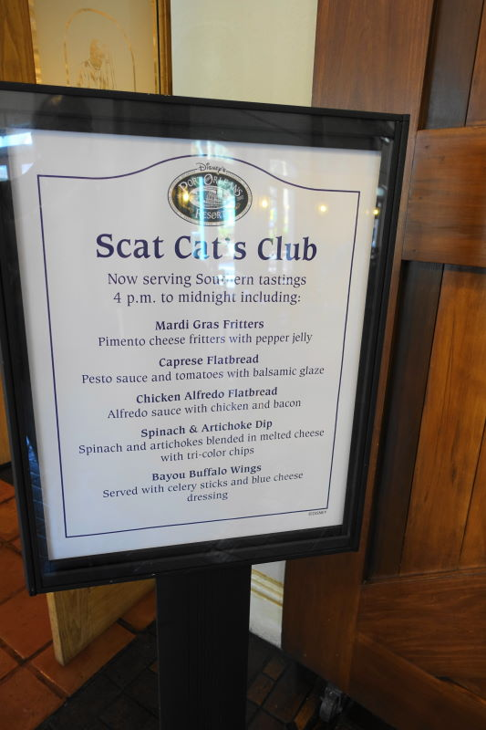 Scat Cats Disney's Port Orleans French Quarter Resort from yourfirstvisit.net