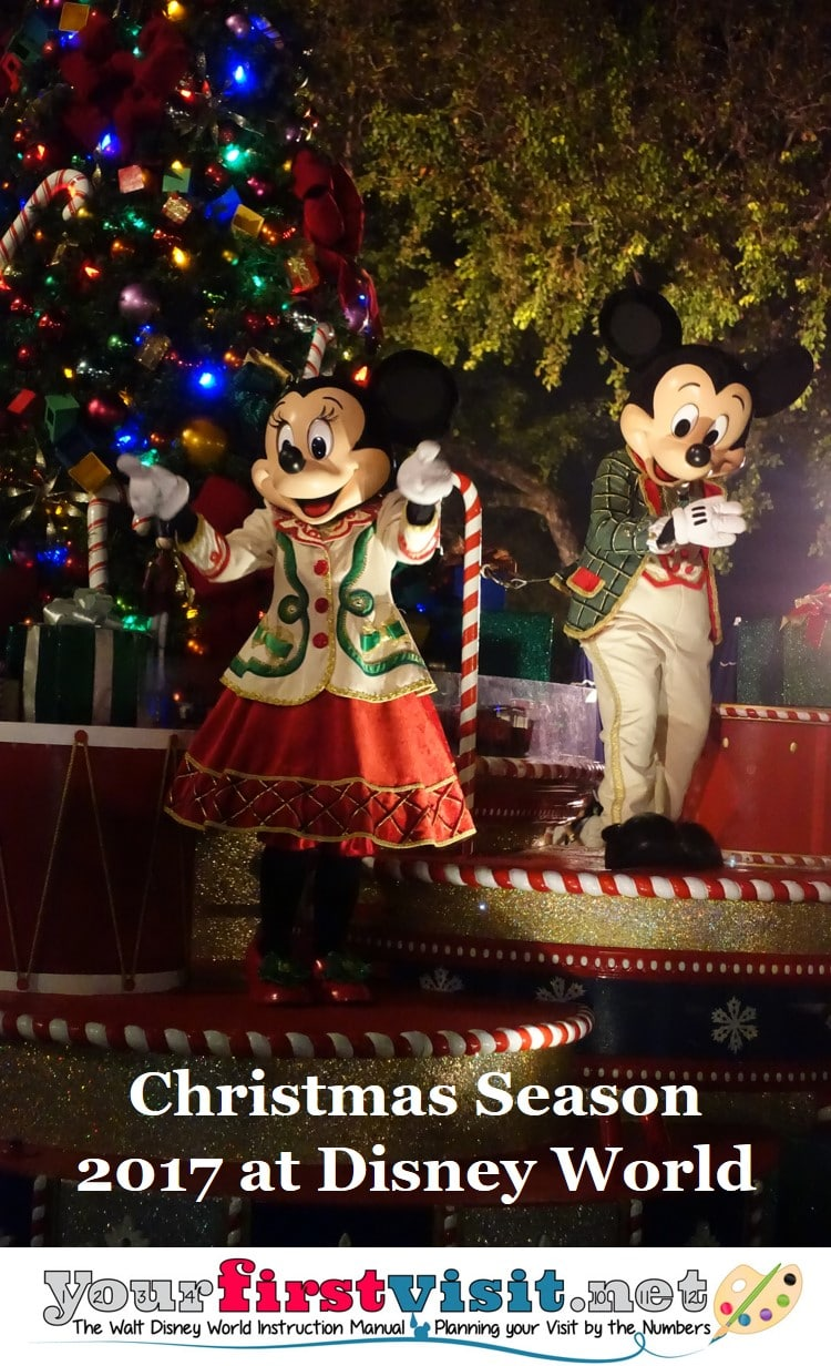 overview christmas 2017 at disney world - When Does Disney Decorate For Christmas 2017