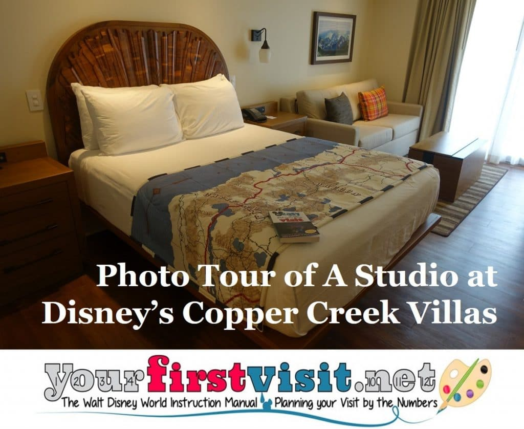 Photo Tour Of A Studio At Disney S Copper Creek Villas