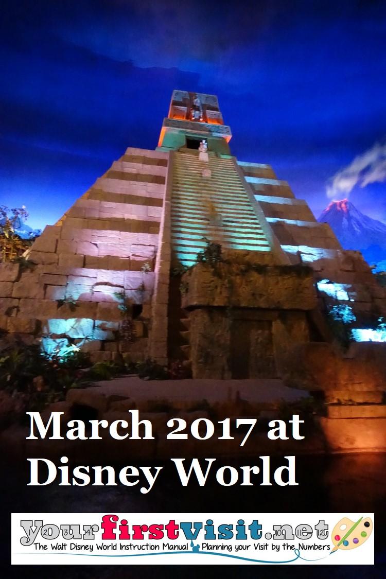 March 2017 at Walt Disney World from yourfirstvisit.net