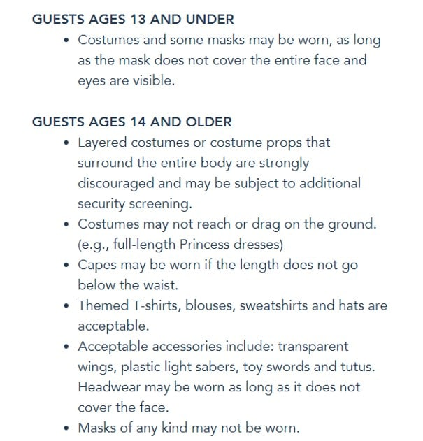 note that these guidelines are solely for the halloween party regular attendance is subject to different rules basically ruling out costumes - Halloween Party Rules