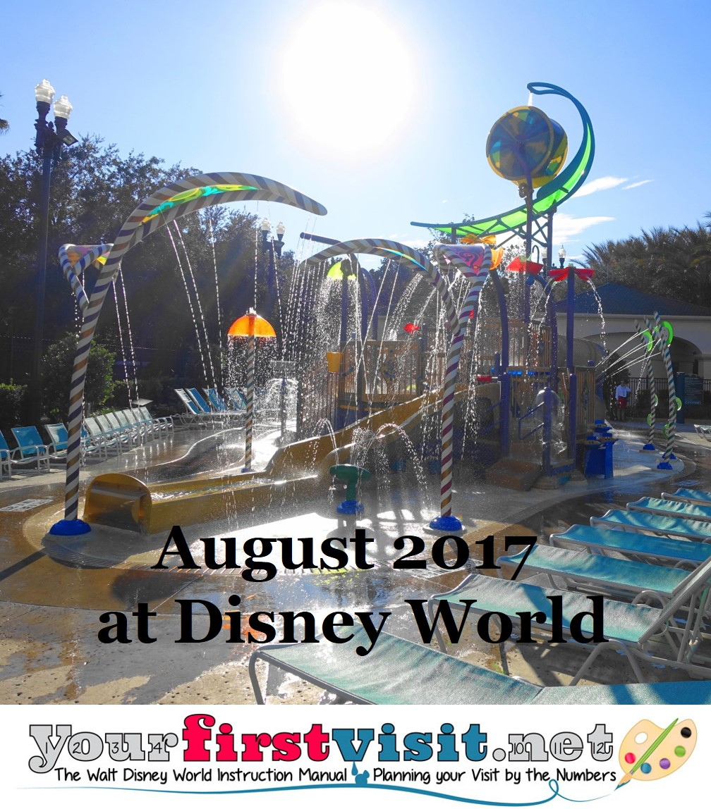 August 2017 at Disney World from yourfirstvisit.net
