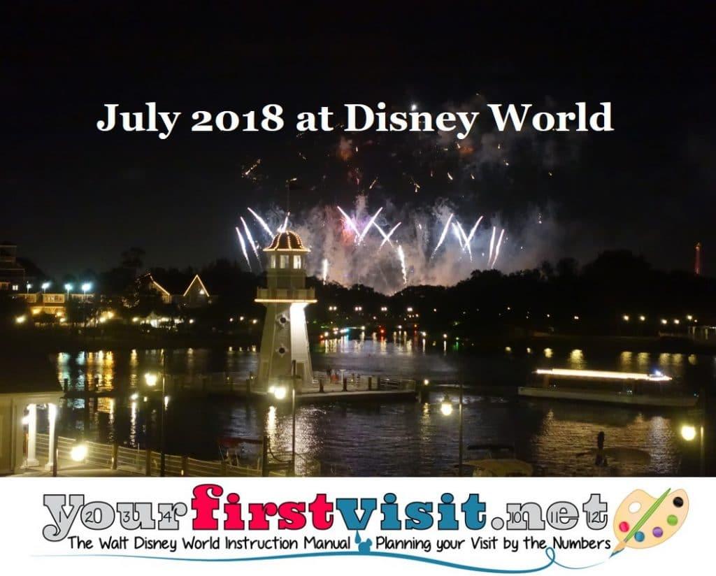 1. Summer At Walt Disney World