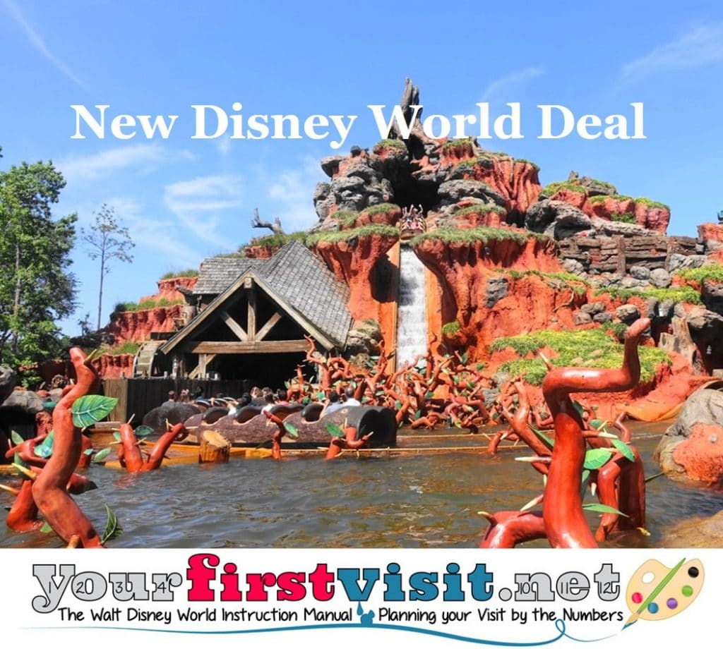 New Disney World Deal Free Dining Extended