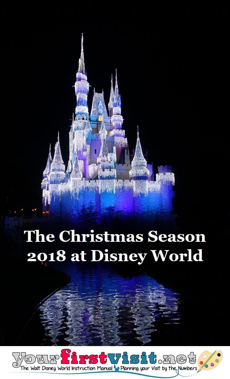 the christmas season at walt disney