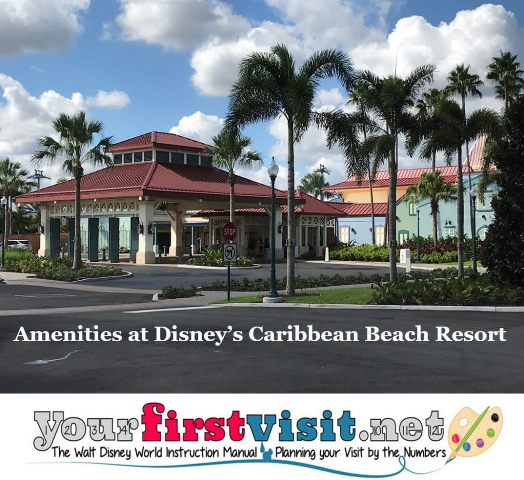 Amenities At Disney S Caribbean Beach Resort