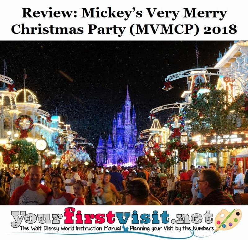 Mickeys Very Merry Christmas Party 2018.Review The 2018 Edition Of Mickey S Very Merry Christmas