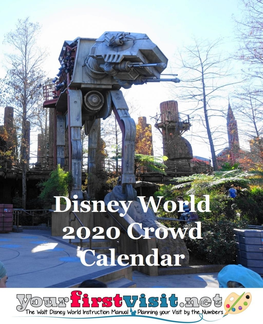 Disney 2020 Crowd Calendar Disney World Crowds in 2020   yourfirstvisit.net