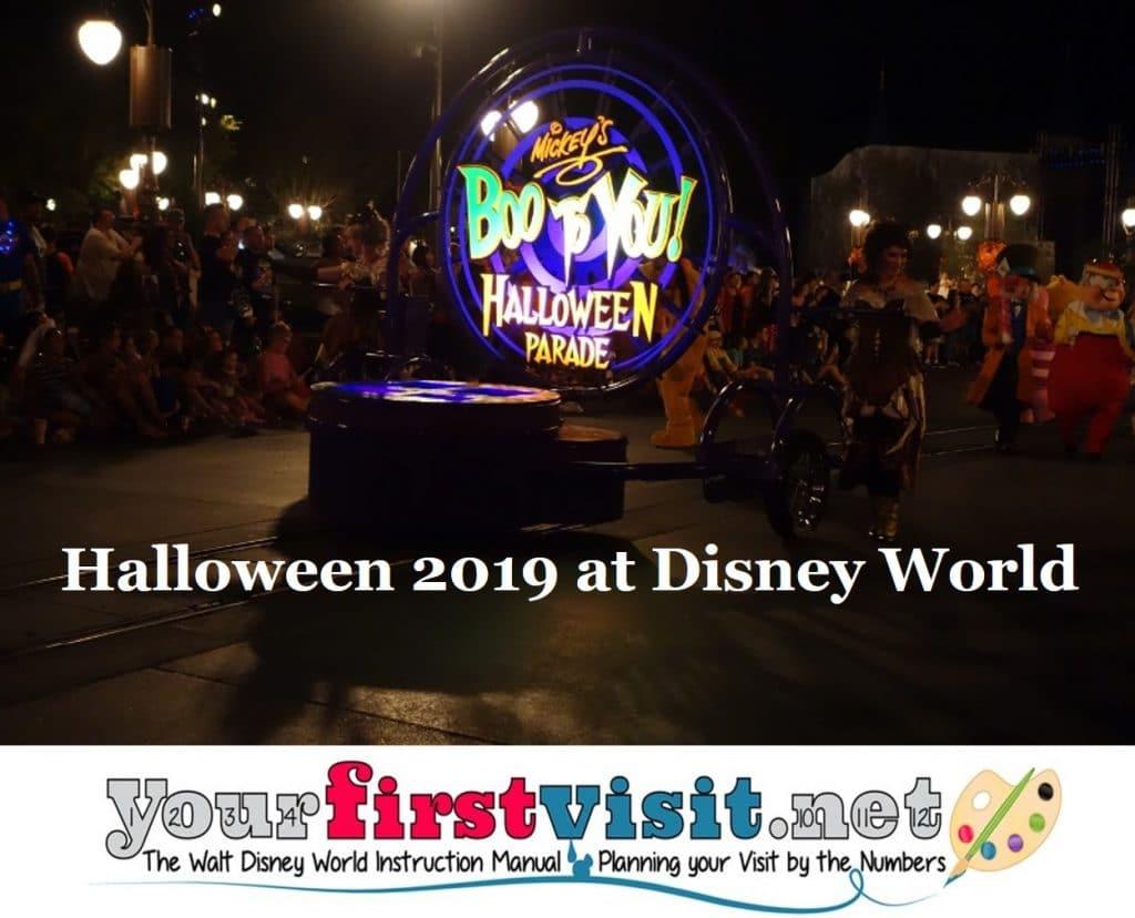 Halloween 2019 at Walt Disney World - yourfirstvisit.net
