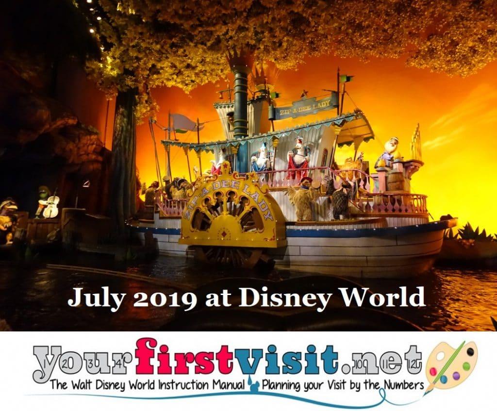 July 2019 at Walt Disney World - yourfirstvisit net