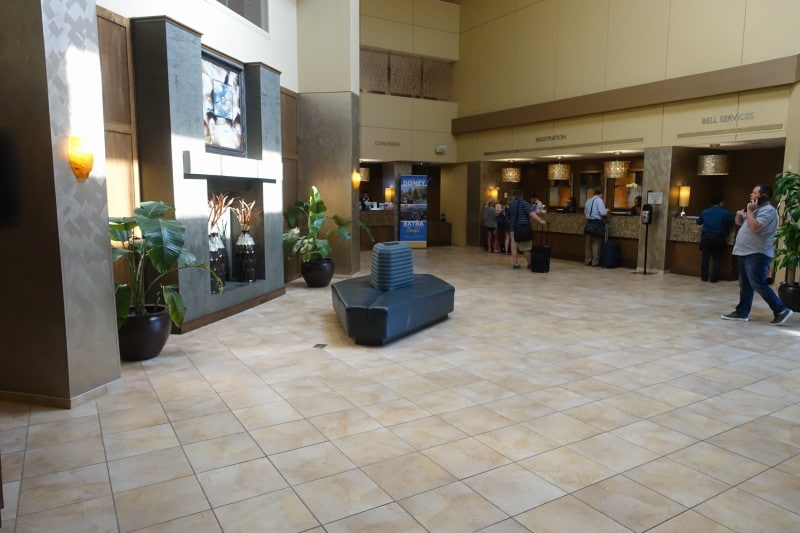 Amenities and Dining at the Doubletree Suites by Hilton