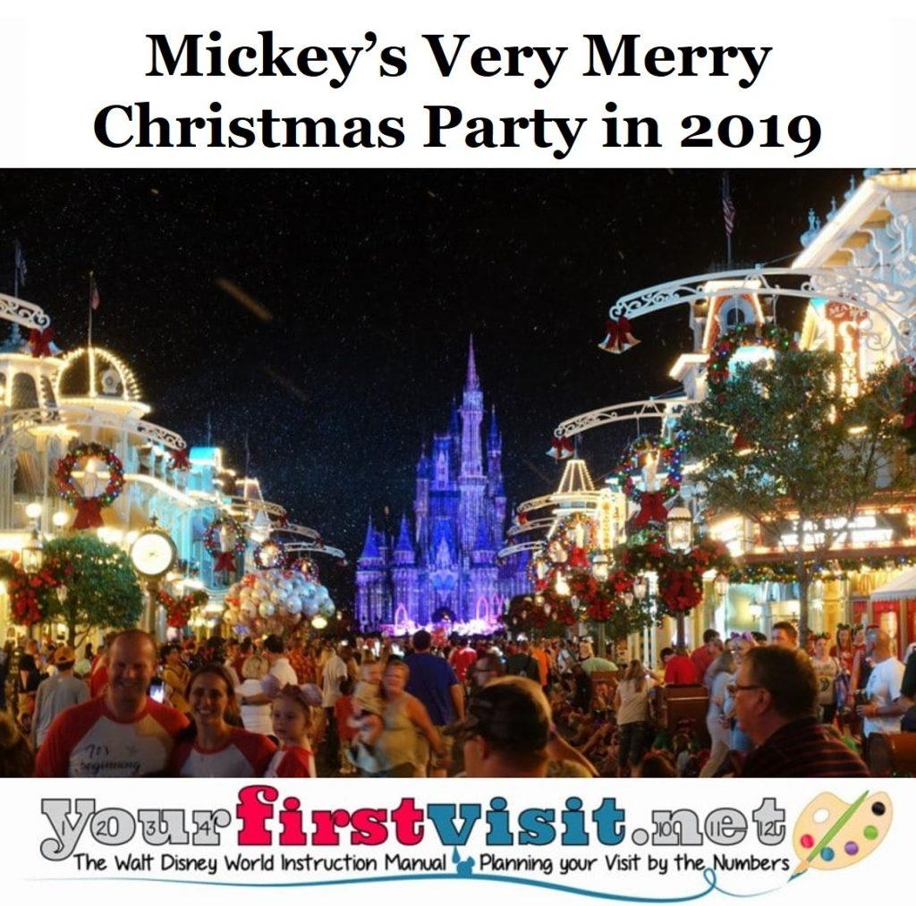Mickeys Very Merry Christmas Party 2019.Mickey S Very Merry Christmas Party Mvmcp In 2019