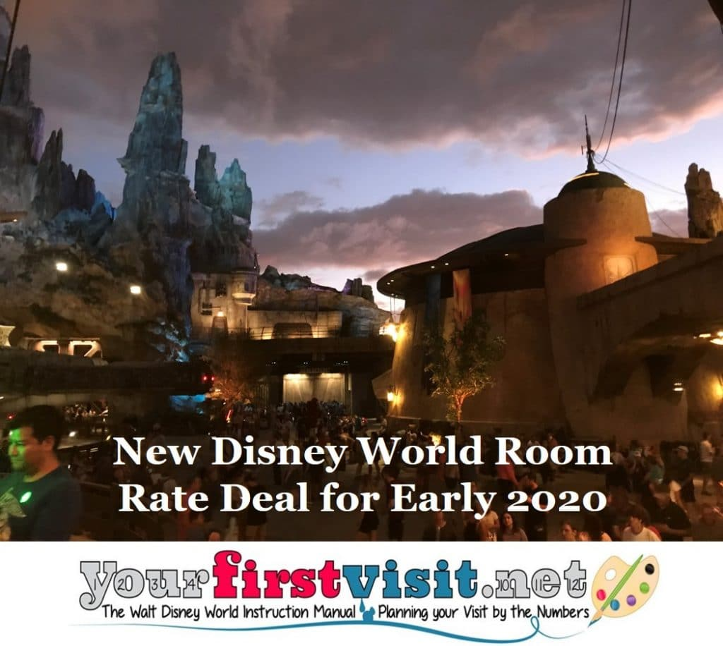 New Disney World Room Rate Deal for 2020  yourfirstvisitnet