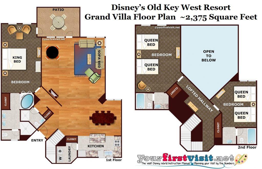 Theming And Accommodations At Disney S Old Key West Resort Yourfirstvisit Net