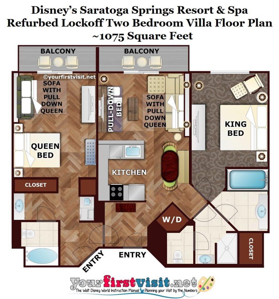 Refurbed Rooms At Disney S Saratoga Springs Resort Spa Yourfirstvisit Net