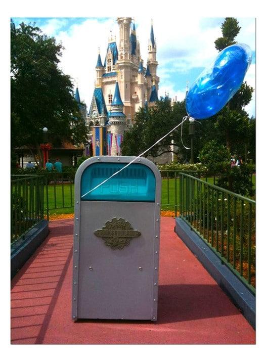 Themed Trash Can at Disney World