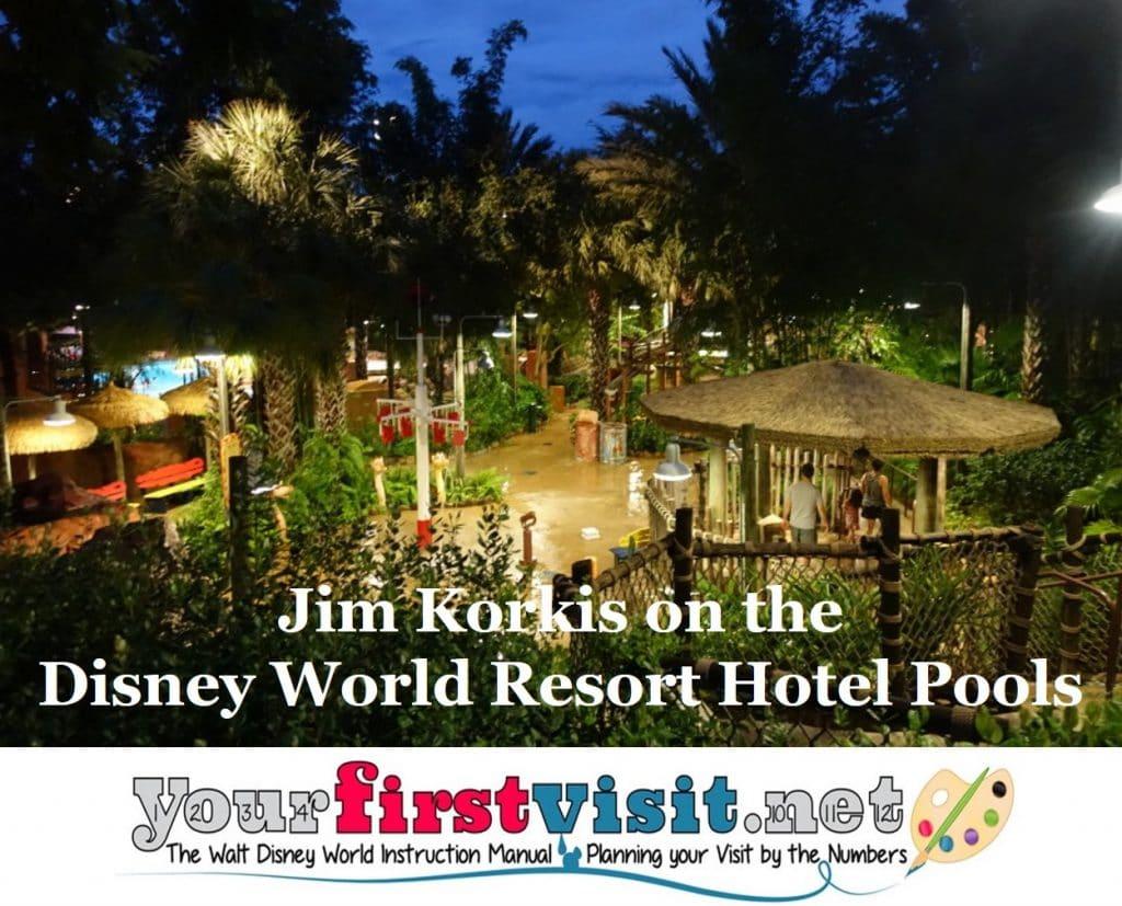 Disney World Hotel Pools